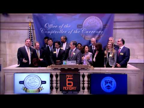 Office of the Comptroller of the Currency rings the NYSE Opening Bell