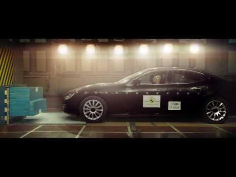 Безопасность это не роскошь - Maserati Ghibli проходит краш-тест Euro NCAP