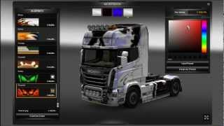 ETS2 Customization - Scania R Series