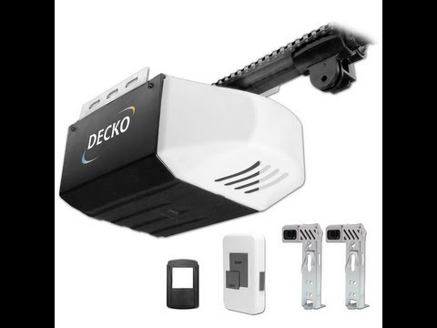 Garage Door Opener Installation Video - Decko Chain Drive