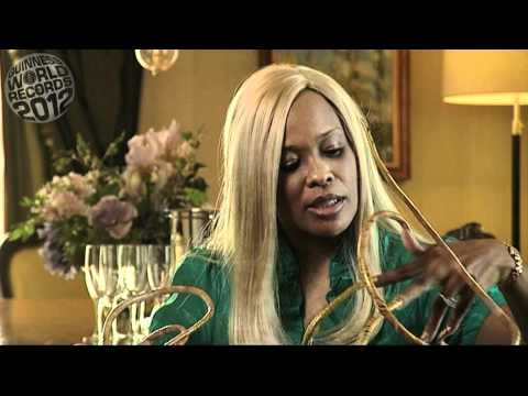 Meet The Record Breakers: Christine Walton --  world's longest fingernails
