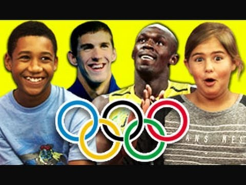 KIDS REACT TO 2012 OLYMPICS