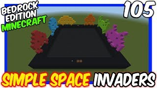 Simple Concept Space Invaders Bedrock Edition