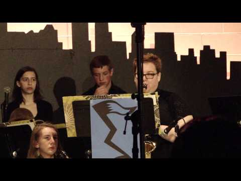 East Troy High School's Jazz Lab - Song for my Father (Trevor Kent) 5/28/14