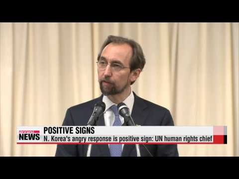 N. Korea′s angry response is positive sign: UN human rights chief   유엔인권대표 기자회견