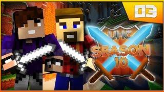 Minecraft: Cube UHC! Season 10: Episode 3 - GOLD GOLD GOLD!