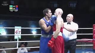 Asian game boxing championship heavy weight..2017