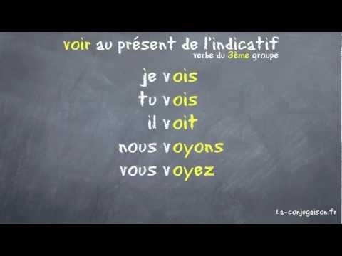 voir au présent de l'indicatif - La-conjugaison.fr streaming vf