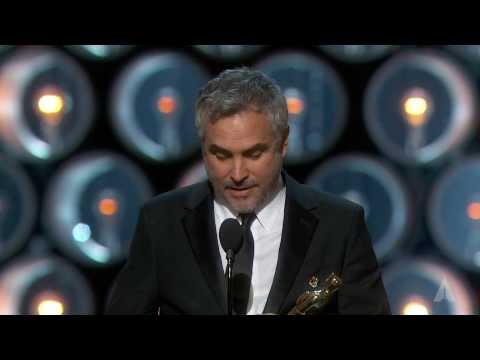 Alfonso Cuarón Wins Best Directing: 2014 Oscars