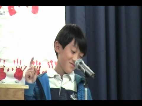 Winning Elementary Student Council Treasurer Speech Funny ...