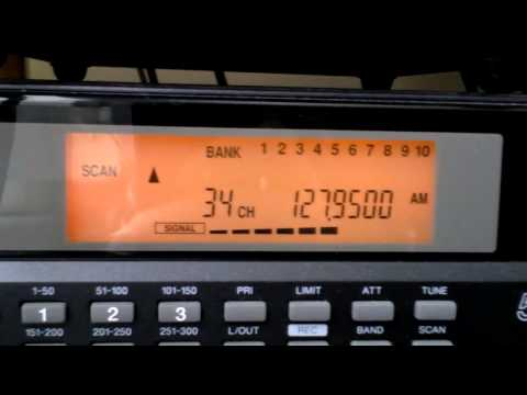 Radio Scanner Commtel (Realistic, Radio Shack)  receiver (Air band Luton airport UK)
