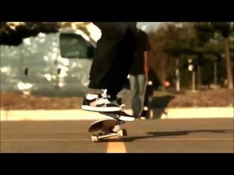 Trucos de skate en cámara lenta (HD)