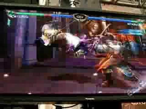 Ogure Ito Vs Kujiro Soul Calibur 4