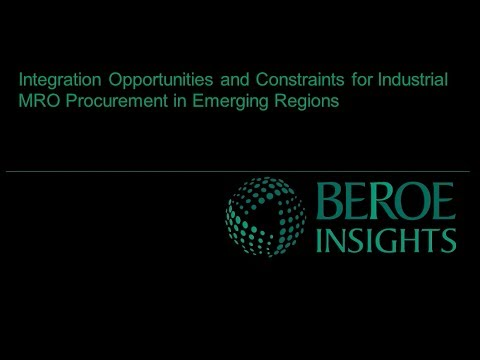 Integration Opportunities and Constraints for Industrial MRO Procurement in Emerging Regions