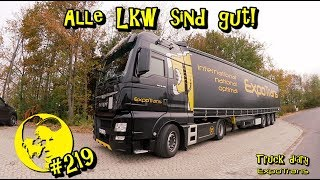 Alle Lkw sind gut! / Truck diary / ExpoTrans / Lkw Doku #219