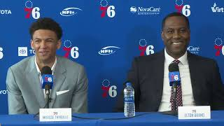 76ers Draft Live - Welcome Presser