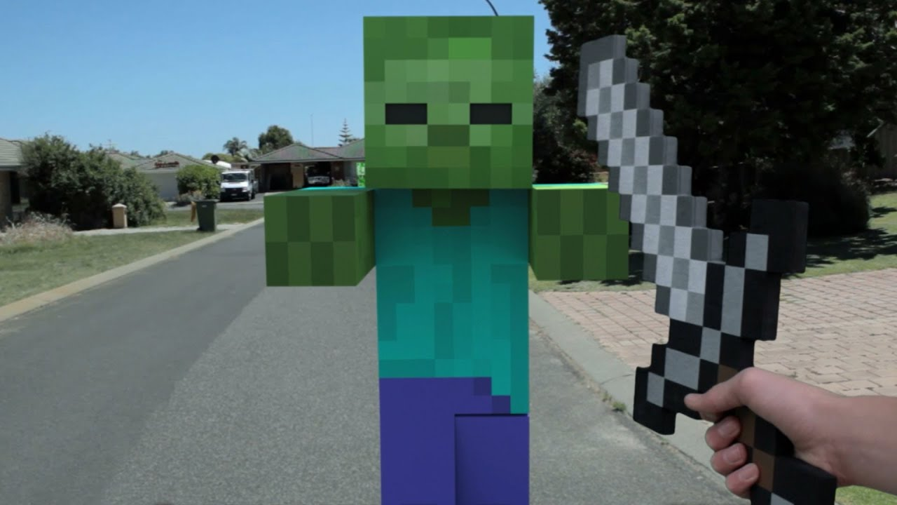 Minecraft in Real Life | First