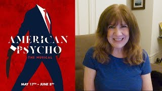 VLOG:  American Psycho, the Musical