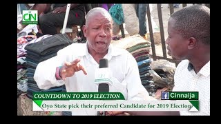 PEOPLE OF OYO STATE PICK THEIR CHOICE CANDIDATE AHEAD OF 2019 ELECTION