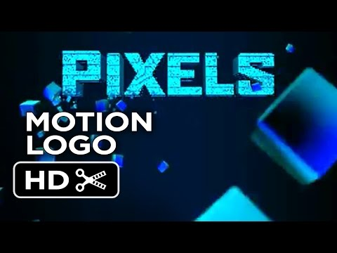 Pixels Motion Logo (2015) - Adam Sandler, Peter Dinklage Movie HD
