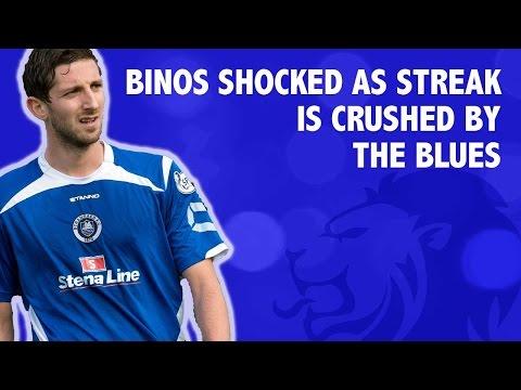Binos shocked as streak is crushed by The Blues