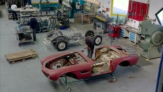 The Restoration of Elvis' BMW 507