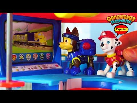 Aprende los Colores - Video Educativo para Niños! Juguetes Paw Patrol y Peppa Pig