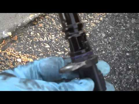 2003 Jeep Liberty 3.7L  Replacing the Camshaft Position Sensor