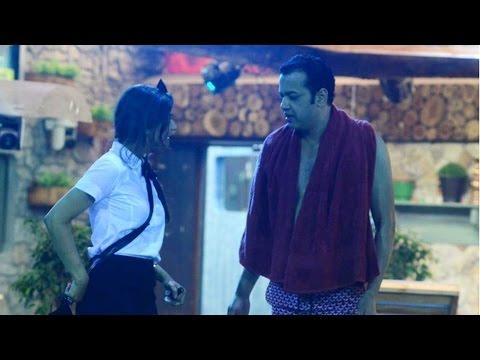 Bigg Boss 8: OMG! Dimpy Spits In Husband Rahul Mahajan's Juice?