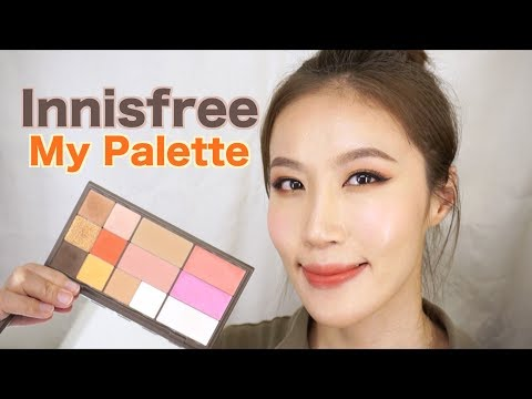 Celeste Wu 大沛   Innisfree my palette自組盤分享