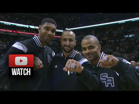Tim Duncan, Tony Parker & Manu Ginobili Highlights vs Mavericks (2014.10.28) - 57 Pts Total!