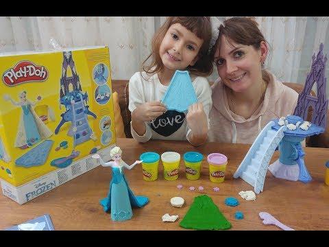 KARLAR ÜLKESİ ELSA DİSNEY FROZEN PLAY-DOH, Toys unboxing, oyuncak