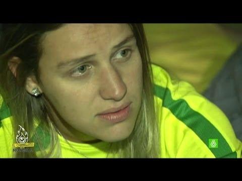 Mundial 2014 | Brasil 1-7 Alemania - Marta Riesco vive la decepción de los aficionados brasileños
