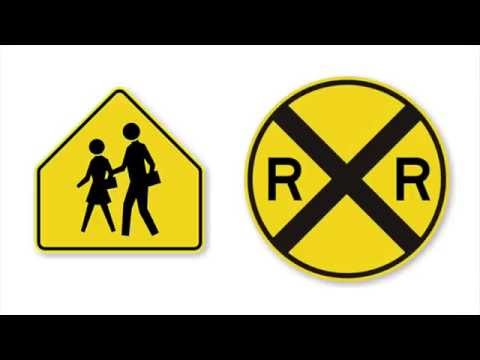 How to Pass Your US Driver's Test: A Road Sign Review