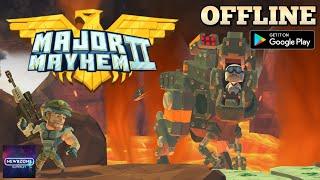 Major Mayhem 2 - Action Arcade Shooter Gameplay