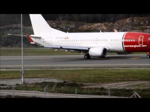 Evening spotting at Haugesund Airport Karmøy (ENHD)