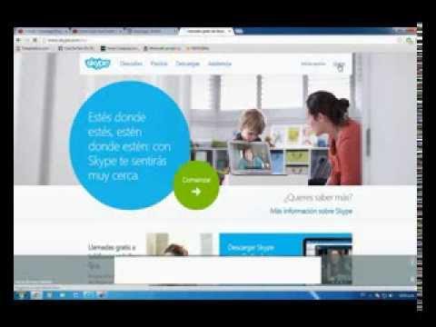 Cambia Skype - Como hacer una Cuenta de Skype 2014 - Tutorial - Bien Explicado ¡¡¡¡
