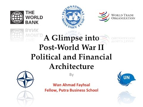 Post-World War II Financial and Political Architecture