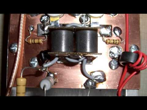 How to build a 2 pill linear amplifier for use on 10 & 11 meters. thumbnail