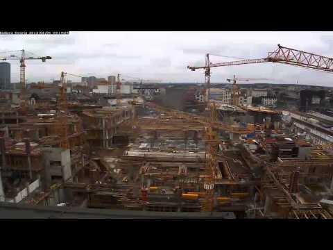 Budowa Dworca PKP W Katowicach W 90 Sekund