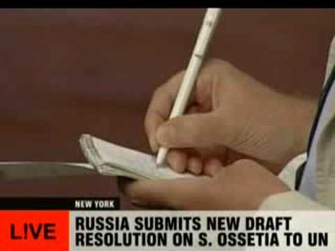 Russia submits new draft resolution