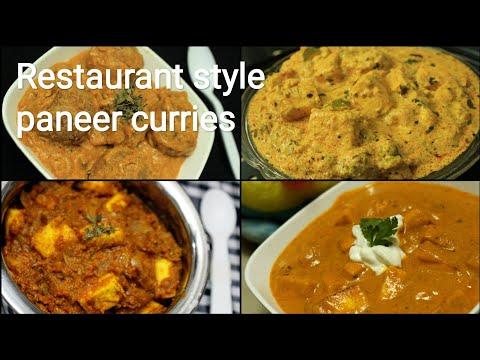 Paneer recipes - Paneer butter masala - Dhaba style paneer masala - Kofta curry - Achari paneer