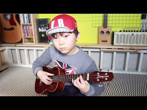 Dust in the wind - Kansas (ukulele cover & arranged  by 9 year-old kid Sean Song)