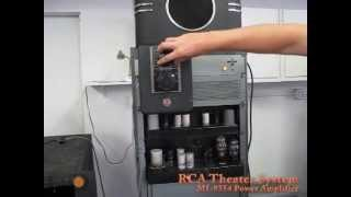 RCA Theater System MI-9354 Power Amplifier