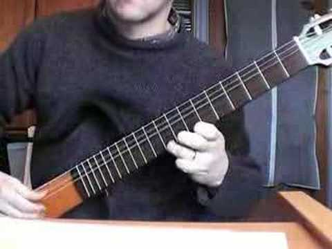 canarios by gaspar sanz on classical guitar