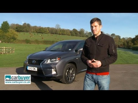 Lexus RX 450h SUV review - CarBuyer