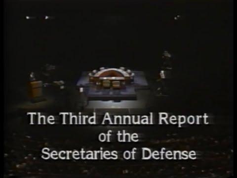 The Third Annual Report of the Secretaries of Defense (1989)