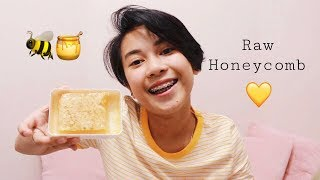 24. FIRST TIME TRYING RAW HONEYCOMB
