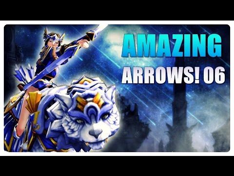 DOTA 2 - Amazing Mirana Arrows! - EP06