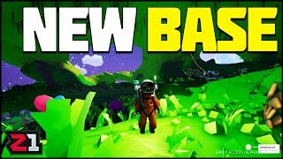 Base Building on Exotic Planet ! NEW MAIN BASE? Astroneer Update 10 Gameplay | Z1 Gaming